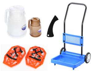 生活雑貨から大型のプラスチック製品まで製造可能